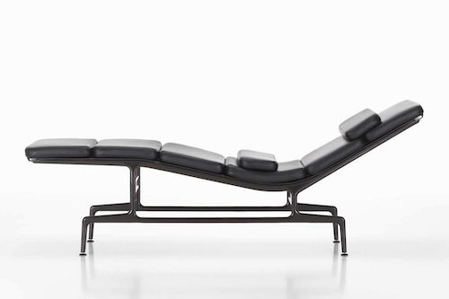 Design lounge chair by charles ray eames soft pad chaise es 106 styling and editing - Charles et ray eames chaise ...