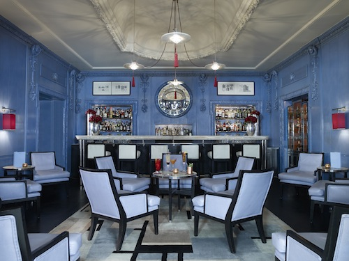 The Blue Bar at Berkeley Hotel