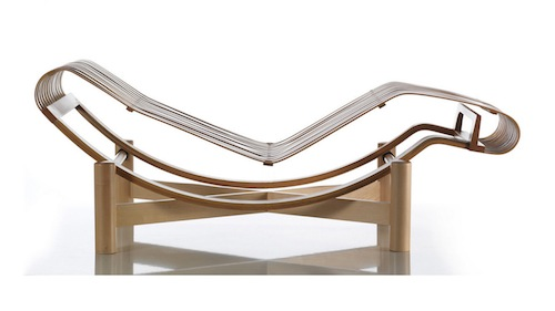 Contemporary lounge chair by Charlotte Perriand 522 Tokyo 1