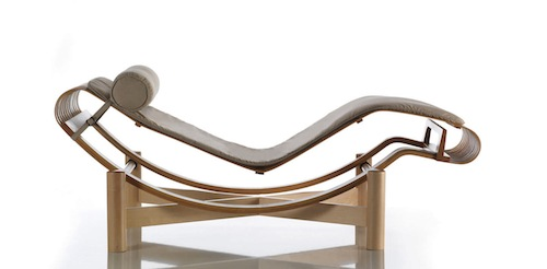Contemporary lounge chair by Charlotte Perriand 522 Tokyo 4