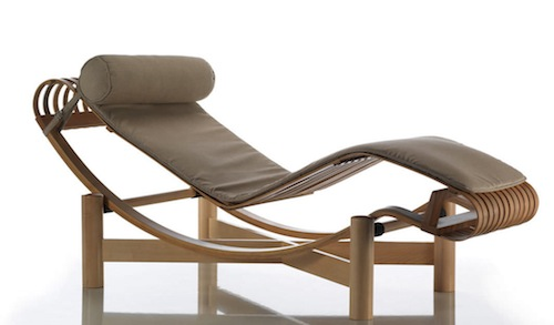 Contemporary lounge chair by Charlotte Perriand 522 Tokyo 5